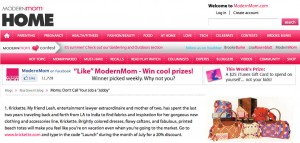 Modern Mom: July 12th, 2011